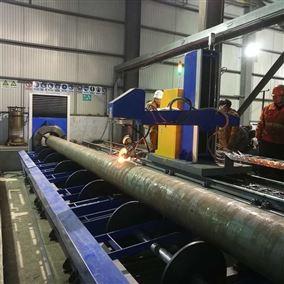 海工行业滚床式相贯线切割机