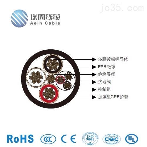 三芯圆形3*20电缆氯化聚乙烯