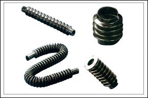 圆筒式橡胶丝杠、光杠、工具磨床护罩